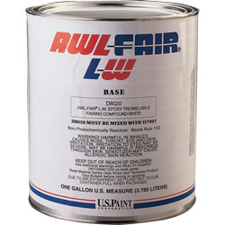 Awl-Fair LW Fairing Compound (Professional Application Only)