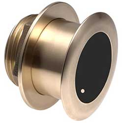 Garmin B175L Thur-Hull Transducer, 8-pin, CHIRP, 1kW, Bronze