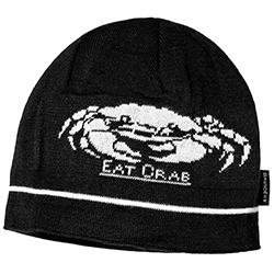 Eat Crab Knitted Beanie