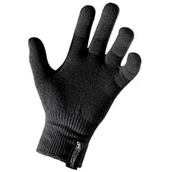 Gage Outlast Knit Glove Liner, Black