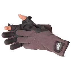 Hybrid Angler Fleece Lined Neoprene Fishing Gloves