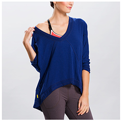 Women's Balasana Long-Sleeve Top