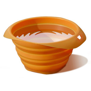 Collaps-A-Bowl Portable Pet Feeder, Orange