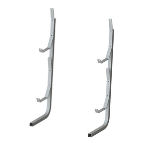 Dock Sides Vertical Kayak Rack, Hot-Dip Galvanized