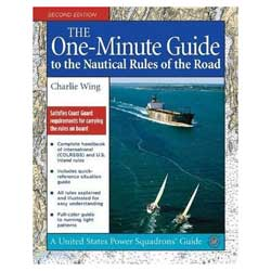 Paradise Cay One-Minute Guide to the Nautical Rules of the Road, 2nd Edition