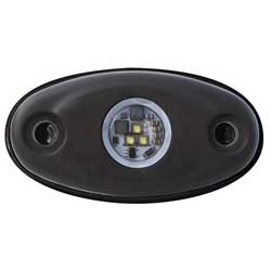 A-Series Accessory Light, Black, 400 Lumens