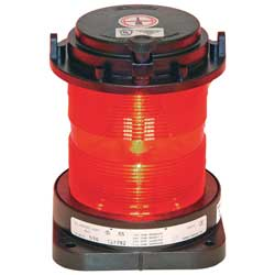 Series 55 Navigation ight All/Round, Red Lens