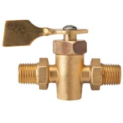 "Shut Off Valve 2 way 1/4"" FNPT Male/Male Universal"