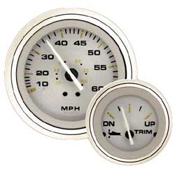Gold Sterling Intrument Gauges