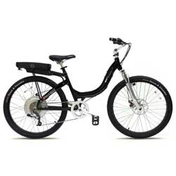 Stride 500 Black Electric Bike 8 Speed, 36V, 500W