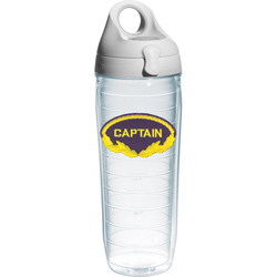 Captain Water Bottle Tumbler, 24oz.