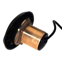 Bronze HDI 0° Tilted Element Thru Hull Transducer