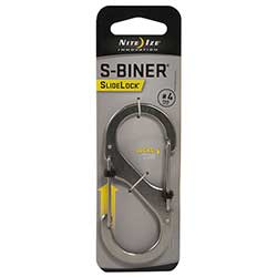 S-Biner SlideLock #4, Stainless Steel
