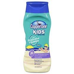 SPF 30 Kids Sunscreen Lotion, 8 oz.