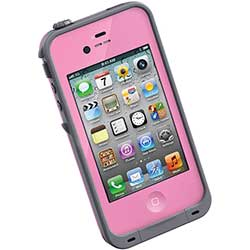 iPhone 4/4S Waterproof Case, Pink