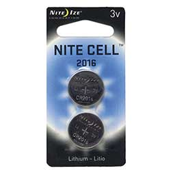Nite Cell 2016 Replacement Batteries, 2 Pack