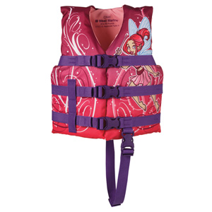 Kids' Character Life Jacket, Youth 30-50lb., Pixie