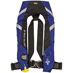 Offshore Sail Automatic Inflatable Life Jacket with Harness