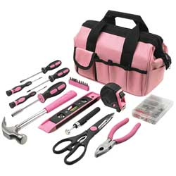 Pink Essentials Tool Set