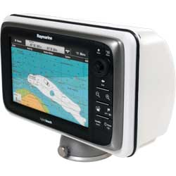 Powerboat or Sailboat Deck Pod for Multi-Function Displays and Chartplotters