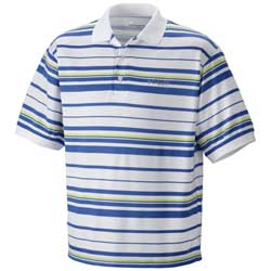 Men's Super Cast Striped Polo