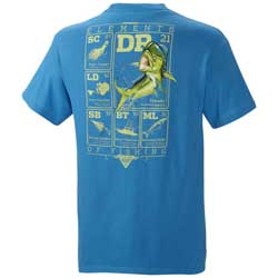 Men's PFG Elements Saltwater Short Sleeve Tee