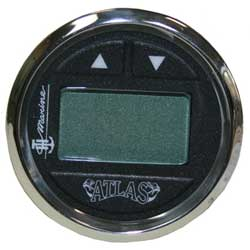 ATLAS Digital Gauge Kit Stainless Steel Face