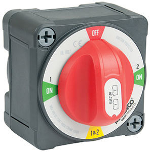 EZ-Mount Pro Installer Off/1/Both/2 Battery Switch