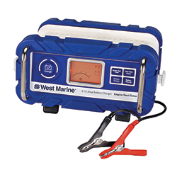 15 Amp Automatic Battery Charger with Engine Start Timer