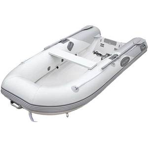 RIB-310 Single Floor Rigid Inflatable Boat, Gray Hypalon