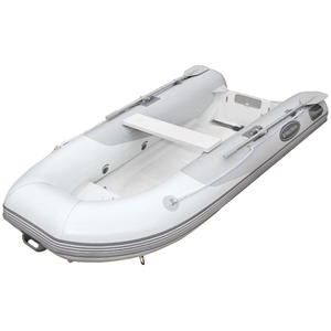 RIB-350 Double Floor Hypalon Inflatable Boat, Gray