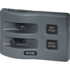 WeatherDeck® Waterproof Switch Only Panel—Two Position