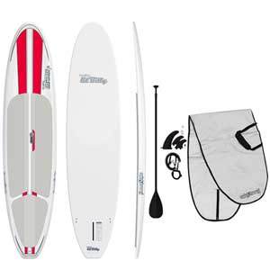 "10'6"" Lil' Billy Stand-Up Paddleboard Package, Red"