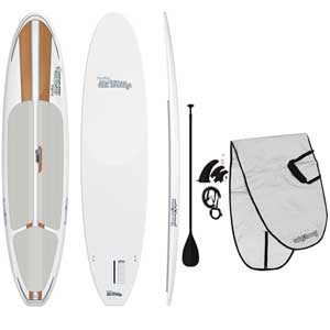 "10'6"" Lil' Billy Stand-Up Paddleboard Package—Wood Grain"