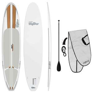 "11'6"" Big Bro Stand-Up Paddleboard Package, Wood Grain"
