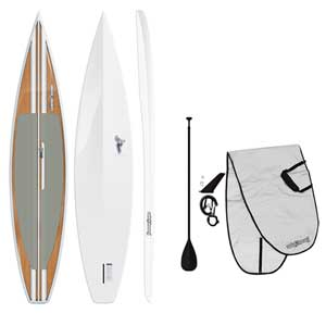 "12'6"" Woodpecker Stand-Up Paddleboard Package"