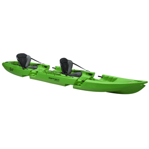 Tequila! GTX Tandem Modular Sit-On-Top Kayak, Lime Green