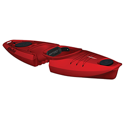 Martini GTX Solo Modular Sit-Inside Kayak, Red