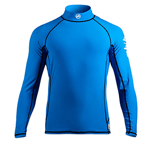 Men's Long-Sleeve Spandex Top