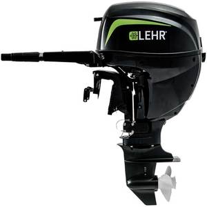 15hp Propane Powered Outboard Engine, Short Shaft, Electric Start