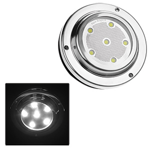 Aqua-Bright II High-Intensity White LED Underwater Light 2-Pack