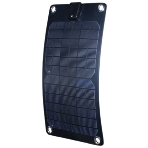 5W Semi-Flexible Monocrystalline Solar Panel