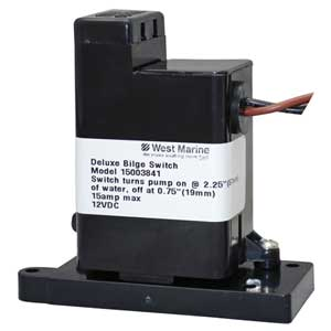 Electronic Bilge Pump Switch