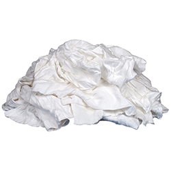 Recycled White Cloth Rags