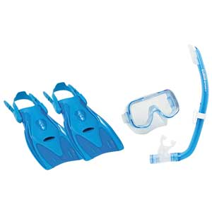 Mini-Kleio Junior Dive Kit, Blue