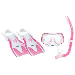 Mini-Kleio Junior Dive Kit, Pink