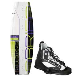 System 124cm Wakeboard Combo with System Jr 2 Bindings