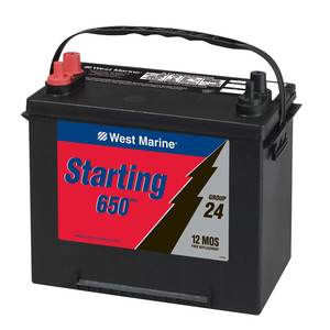 Marine Starting Battery, Group 24 M5