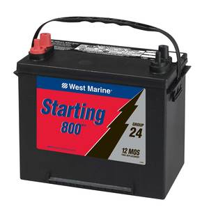 Marine Starting Battery, Group 24 M6