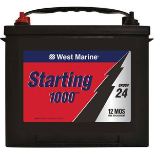 Marine Starting Battery, Group 24 M7